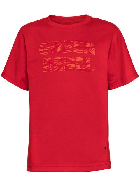 VAUDE Fulmar Shirt Kids indian red